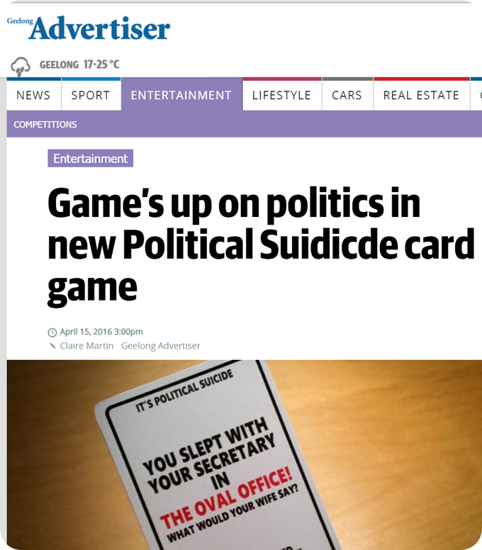 Political Suicide Review