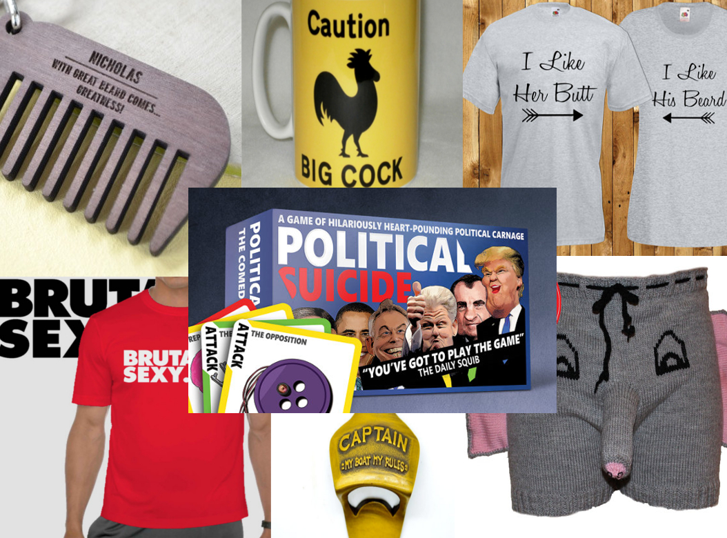 Top seven boyfriend gifts on etsy political suicide for What is the best gift for a boyfriend